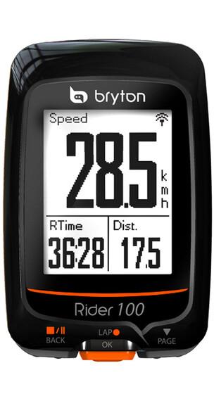 Bryton Rider 100 E - Ciclocomputadores inalámbricos - negro